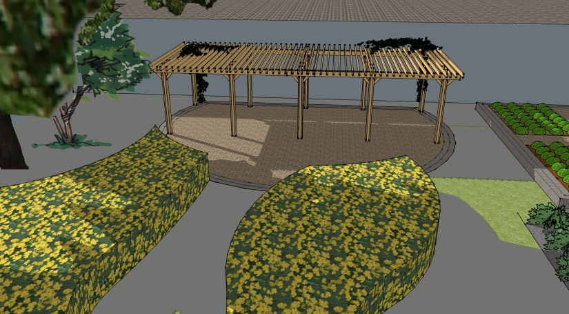 l_ibrary patio and pergola 2